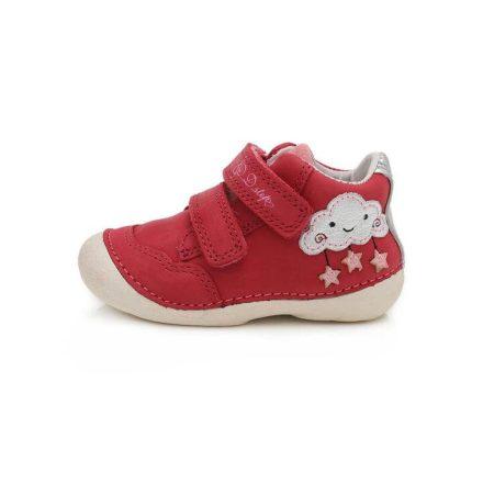 D.D.step kislány 'első lépés' barefoot bokacipő (19-24) 015-193B