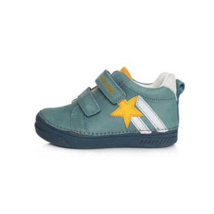 D.D.Step zárt fiú bőrcipő (25-30) 040-448A