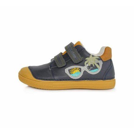 D.D.Step fiú bőr cipő (25-30) 049-207AM