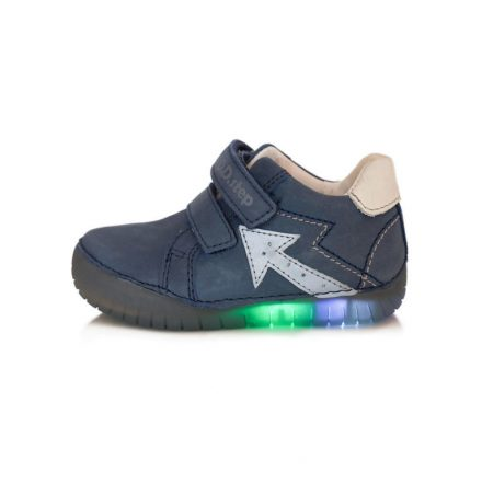D.D.Step fiú LED-es cipő-UTOLSÓ PÁR (30) 050-17