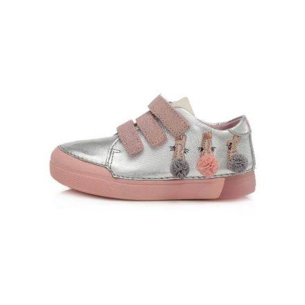 D.D.Step kislány bőr cipő (25-30) 068-683M