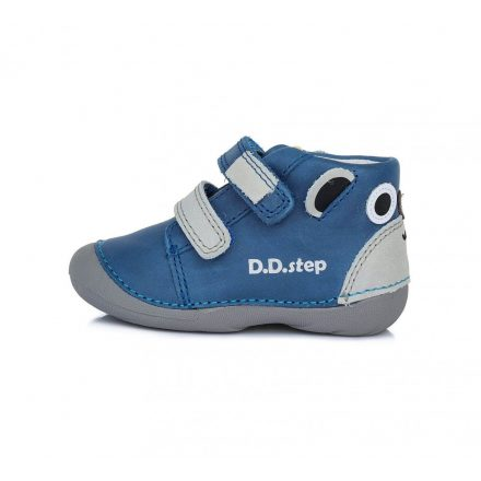 D.D.Step fiú átmeneti bőr cipő (19-24) S015-803B